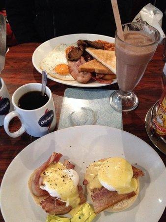 The Diner Soho: Lovely breakfast!