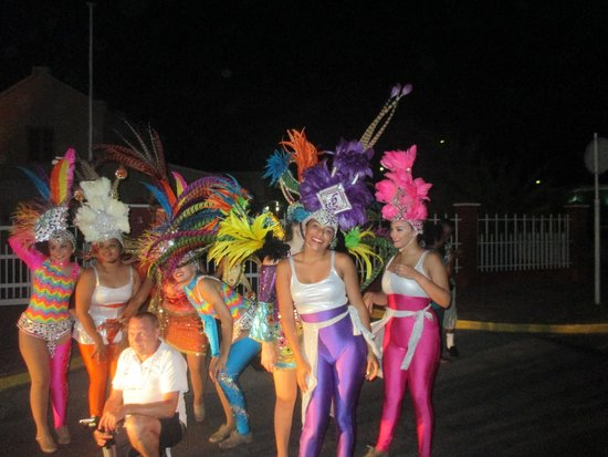 Fort Zoutman: carnaval
