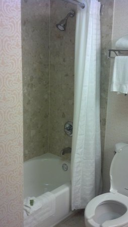 Quail Hollow Resort : bathroom