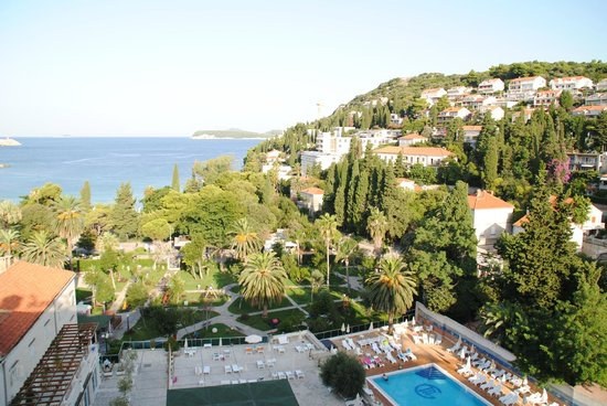 Grand Hotel Park: View from room