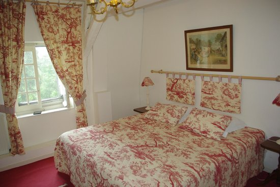 Chateau de Beaulieu : Room on top floor somewhat less expensive