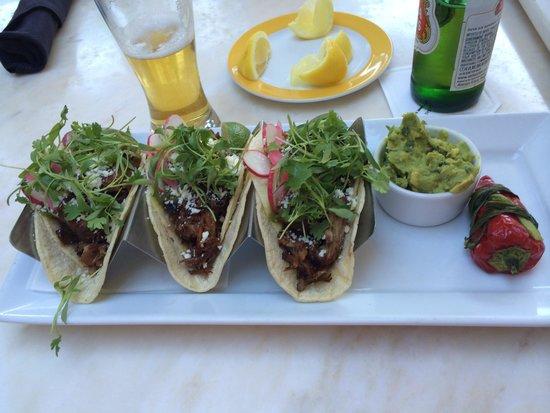 Terrace Pointe Cafe: Tacos