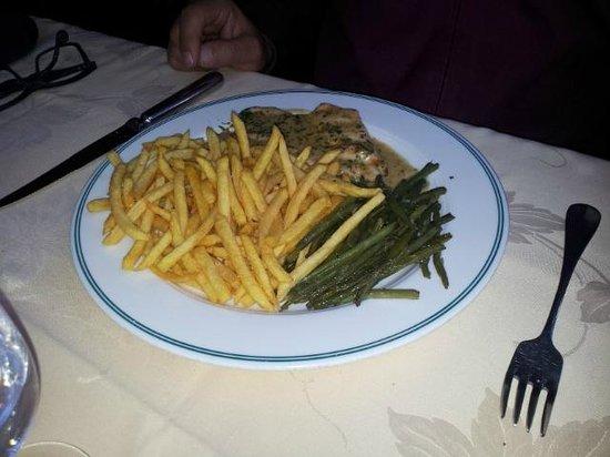Petit Boeuf : Filet Chicken with mushroon sauce