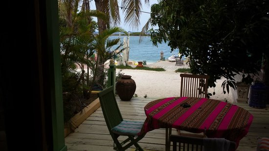 Aruba Reef Beach Apartments: View from our apartment
