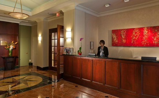 Club Quarters Hotel in Washington, D.C.: Lobby