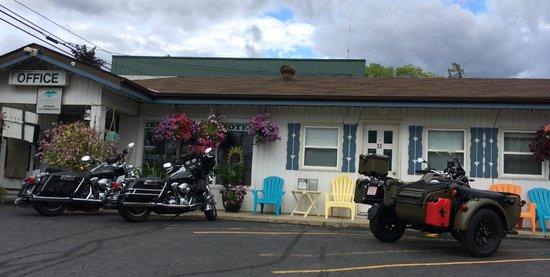 Creston Valley Motel : Bike friendly!