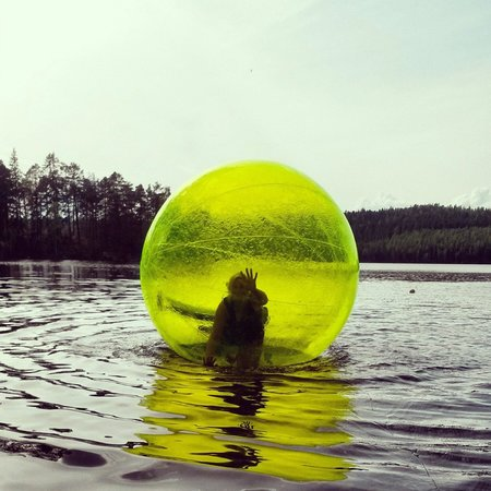 Ludvika, Sverige: Vattenzorbing