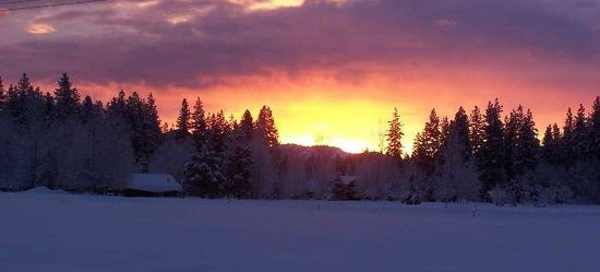 Wolf Ridge Resort: Fantastic Sunsets