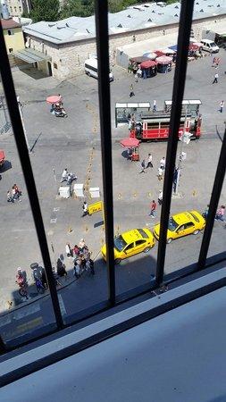 CVK Hotels Taksim: من شباك الفندق