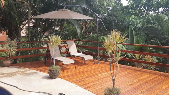 Mirador B&B: New Deck