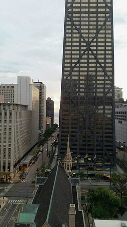 The Whitehall Hotel: View from our room #1703