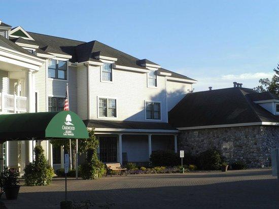 Oakwood Resort's welcoming entrance