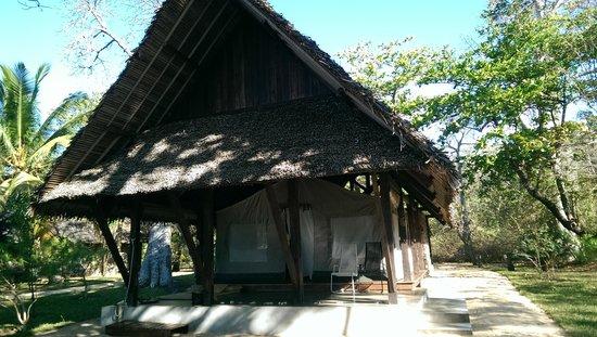 Eden Lodge: notre bungalow