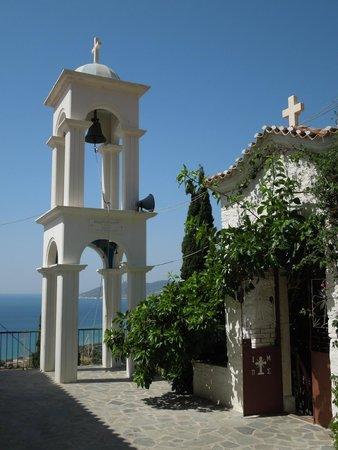 Il campanile - Picture of Monastery of Panagia Spiliani, Pythagorion - TripAd...