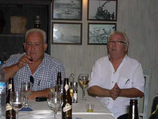 Casa Garcia : Departiendo con el Sr. Antonio Garcia