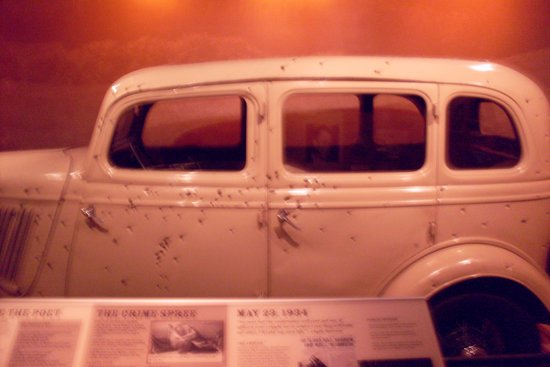 National Museum of Crime & Punishment: Bonnie & Clyde's car