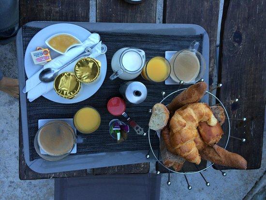 B&B Villa Praesidio: Breakfast