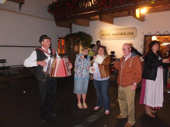 AktivHotel Hochfilzer: Traditional entertainment....