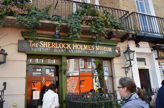 Sherlock Holmes Museum: Negozio di souvenir e dove si acquistano i biglietti