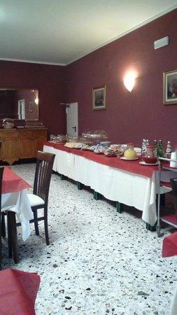 Hotel Perugina: colazione abbondante