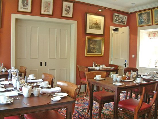 Dumfries House Lodge: Breakfast room detail