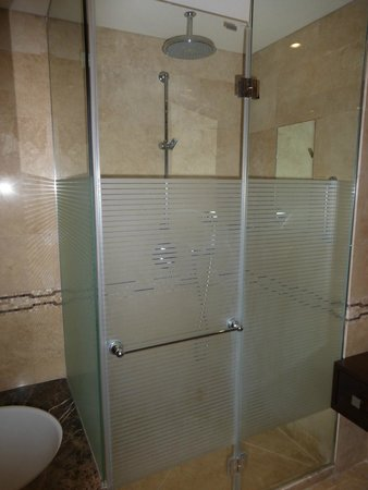 The King David: Large shower