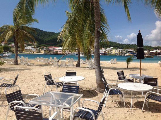 Hotel on the Cay: Never crowded private Beach... Christiansted just across the Bay