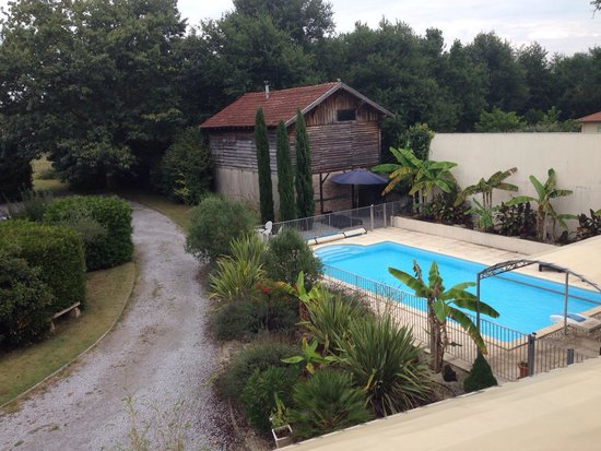 Pontenx-les-Forges, Francia: Room with a view