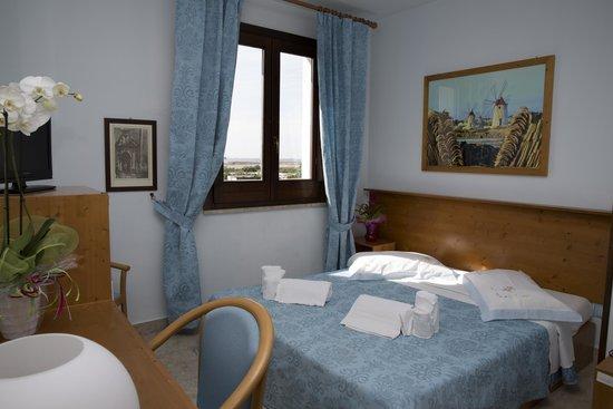 Hotel Isola di Mozia: camera vista su mozia