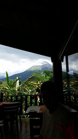 Arenal Manoa Hotel : View from restaurant