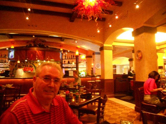 Golden Nugget Hotel The Grotto Italian Restaurant Was Awesome At