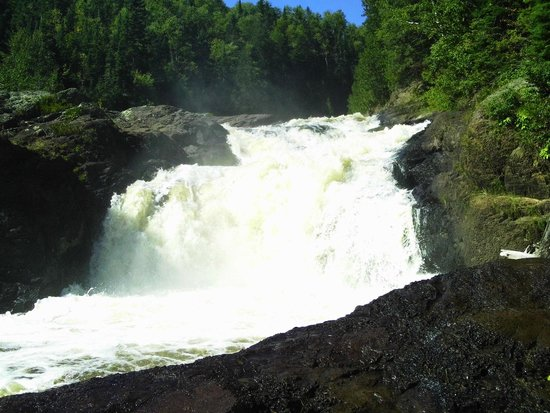 Judge C.R. Magney State Park: Bottom of the Falls