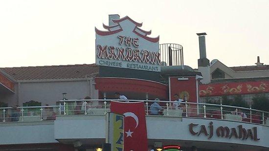 The Mandarin Restaurant: Day view