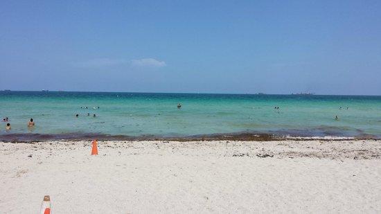 Miami Beach Boardwalk: praia