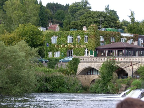 Bath City Boat Trips-Day Tours: The Old Mill Hotel in Bathampton.