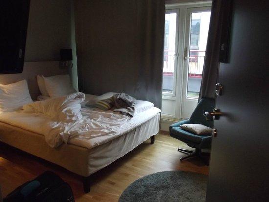 Thon Hotel Tromso : rom med veranda
