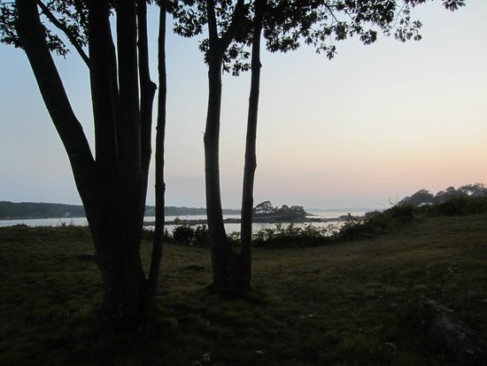 The 8th Maine: evening view from porch