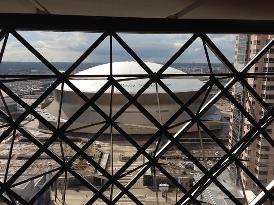Hyatt Regency New Orleans: superdome