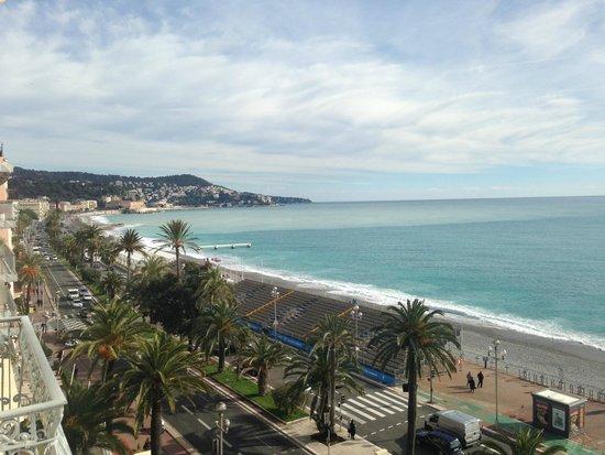 Flott utsikt fra Suite på hotel West End Nice