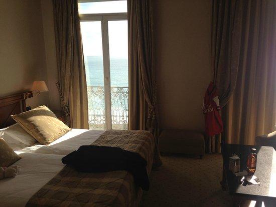 Hotel West End : Soverom med utsikt til havet