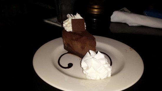 The Cheesecake Factory: Chocolate cheesecake