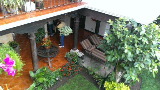 Casa Madeleine courtyard