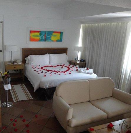 Hotel Almirante Cartagena Colombia : Quarto preparado
