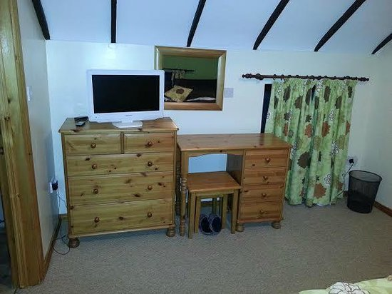 Fermanagh Self Catering: Rafters main bedroom furniture (also wardrobe and arm chair)