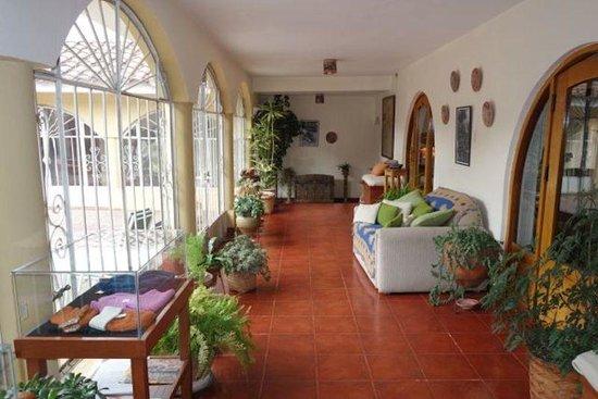 The Garden House: hallway