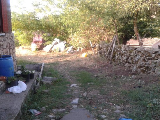 Camino piscina fotograf a de mansio de la plata for Casa rural mansion de la plata penacaballera