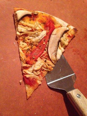 Brickworks Bistro : Q Pizza (no cheese)