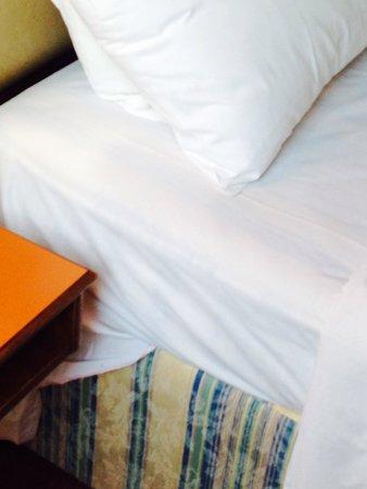 Redcar Hotel: The mattress base