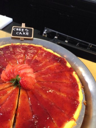 Rec23 Restaurant Emporio Club: Bruch - cheesecake