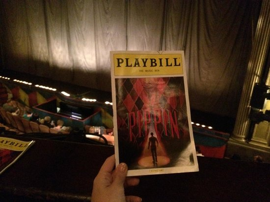 Pippin The Musical: Playbill da peça